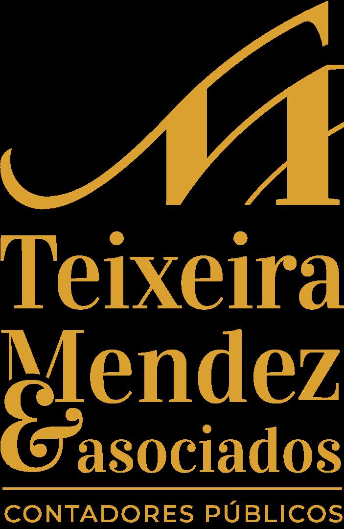 Teixeira mendez Logo Gold